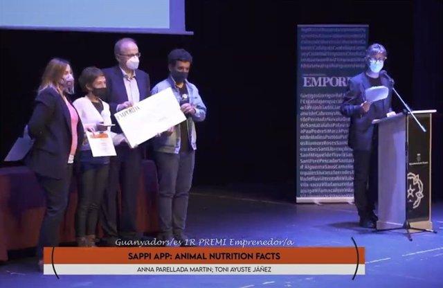 Sappi App: El proyecto ganador del Premio Emprendedor Alt Empordá