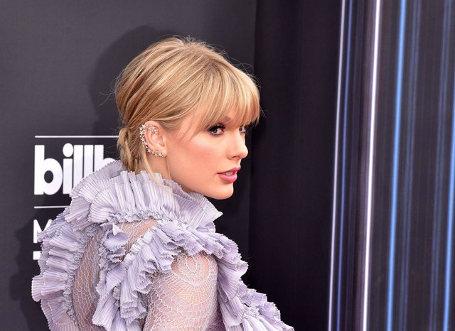 Archivo - 01 May 2019, US, Las Vegas: American singer Taylor Swift arrives to 2019 Billboard Music Awards at MGM Grand Garden Arena. Photo: -/ZUMA Wire/dpa