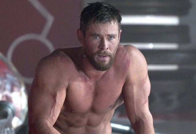 Chris Hemsworth en Thor Ragnarok