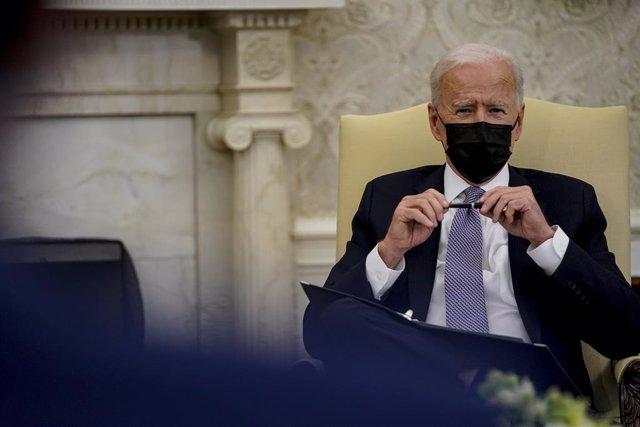 Archivo - El presidente de Estados Unidos, Joe Biden