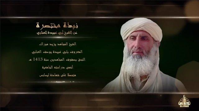 Archivo - Abú Ubaida Yusuf al Anabi, nuevo líder de Al Qaeda en el Magreb Islámico