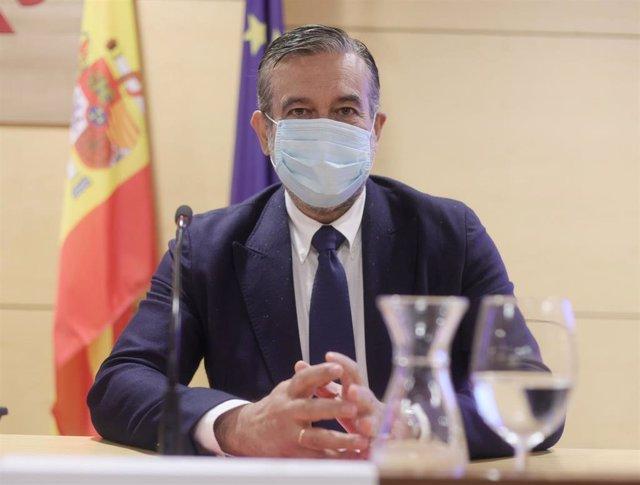 El consejero de Justicia, Interior y Víctimas en funciones de la Comunidad de Madrid, Enrique López.