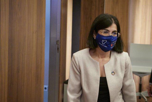 Arxiu - La ministra de Sanitat, Carolina Darias.