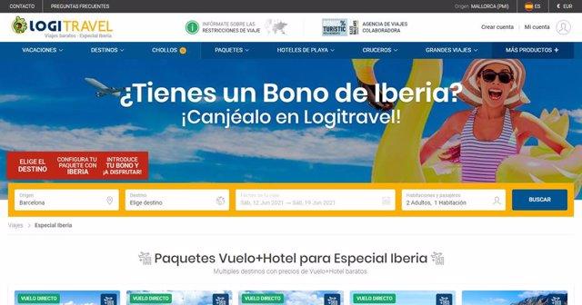 Logitravel permite el pago de reservas con los bonos de Iberia