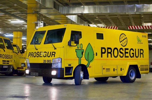 Archivo - Nueva flota de Prosegur Cash