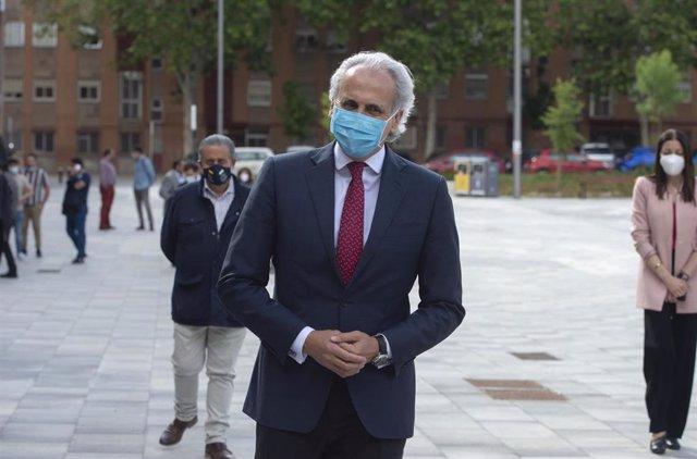 El consejero de Sanidad en funciones de la Comunidad de Madrid, Enrique Ruiz Escudero.