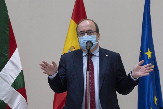 El ministre de Política Territorial i Funció Pública, Miquel Iceta.