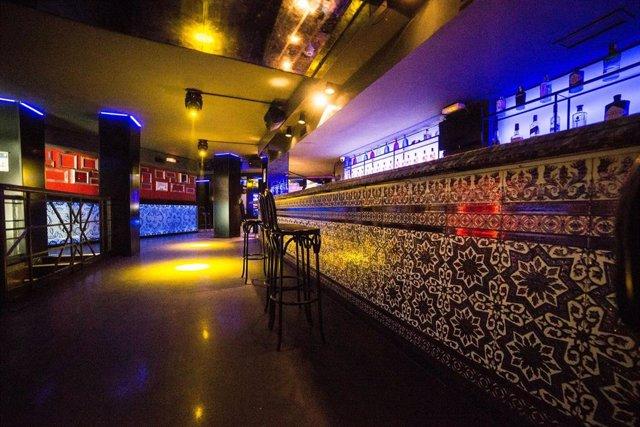 Archivo - Interior de la discoteca La Cartuja en Madrid.