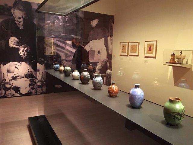 L'exposició 'Els colors del foc. Hamada-Artigas', del Museu Nacional d'Art de Catalunya (Mnac).