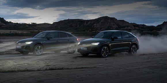1. Audi lanza el nuevo Q5 Sportback, con dos versiones híbridas enchufables de 62 km de autonomía eléctrica