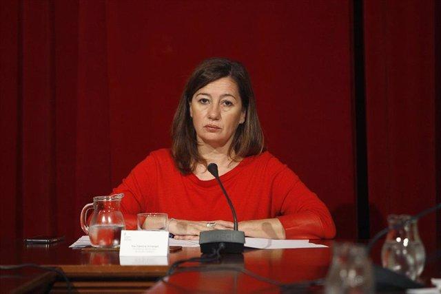 Archivo - La presidenta del Govern balear, Francina Armengol.