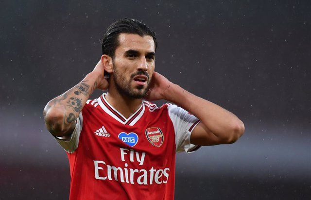 Archivo - Arsenal's Dani Ceballos during the Premier League match between Arsenal and Leicester at the Emirates Stadium, London, England on July 07, 2020 - Photo Ashley Western / Colorsport / DPPI