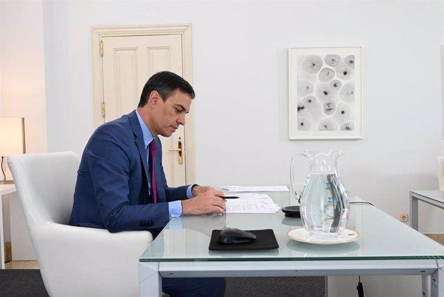 El president del Govern, Pedro Sánchez