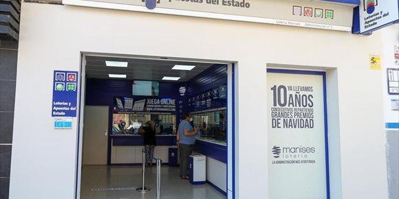 1. El sorteo de 'La Primitiva' deja más de 1,4 millones de euros a un acertante en Alicante