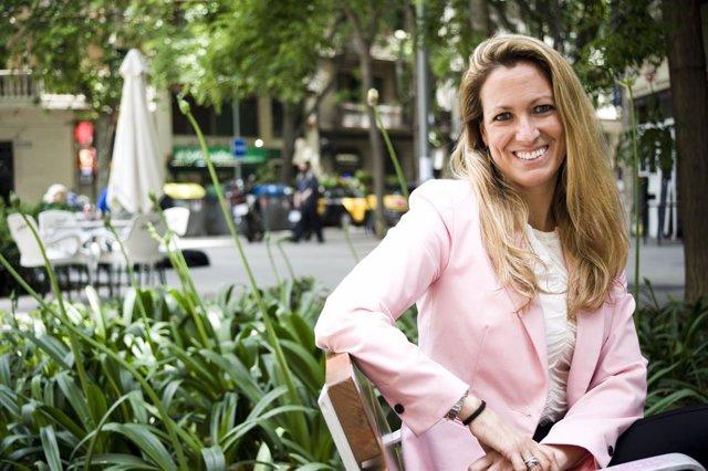 Archivo - Arxivo - La degana del Col·legi d'Advocats de Barcelona, María Eugenia Gai, posa després d'una entrevista per a Europa Press en la redacció d'Europa Press Catalunya, a 26 de maig de 2021,a Madrid (Espanya).