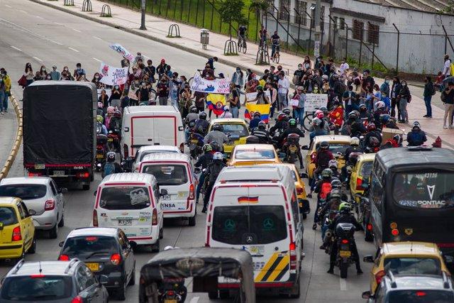 Bloqueos en Colombia en el marco del Paro Nacional