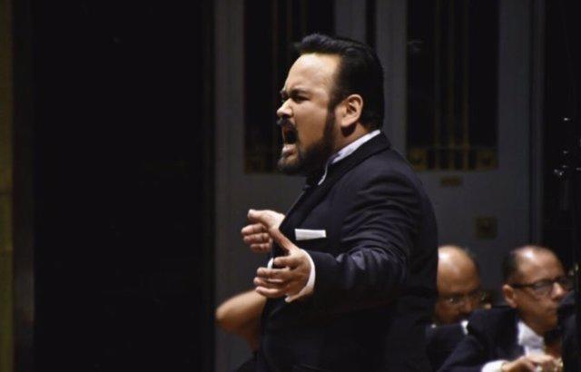 Imagen del tenor mexicano Javier Camarena