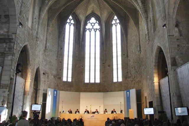 L'Aula Magna Modest Prats, de la Universitat de Girona.