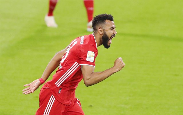 Archivo - Eric Maxim Choupo-Moting of Bayern Munich celebrates after his goal 1-0 during the German championship Bundesliga football match between Bayern Munich and Bayer Leverkusen on April 20, 2021 at Allianz Arena in Munich, Germany - Photo Marcel Enge