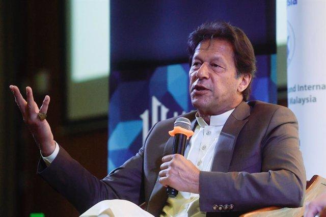 Archivo - El primer ministro de Pakistán, Imran Jan