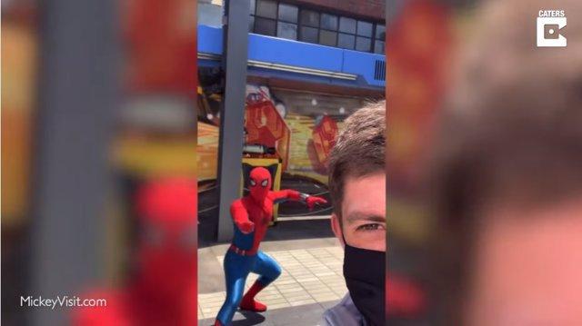 Un entusiasta de Disneyland avanza imágenes del nuevo campus de los Vengadores