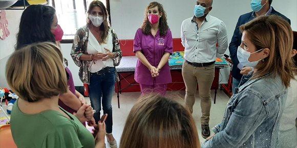 2. El CAIT de Arjona (Jaén) inicia su actividad mediante el concierto social de Salud y Familias