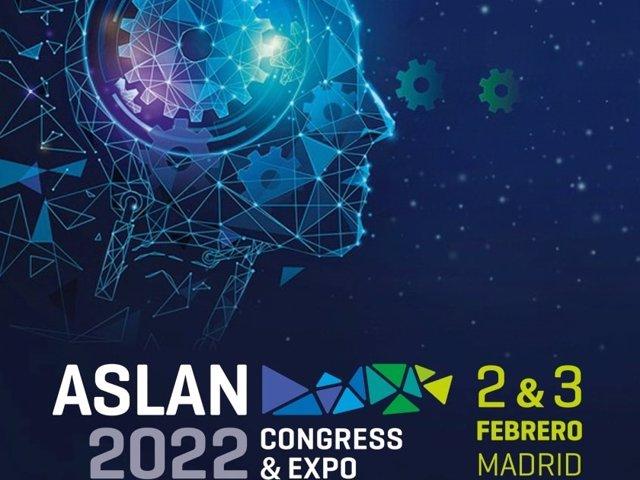 Cartel del Congreso ASLAN 2022.