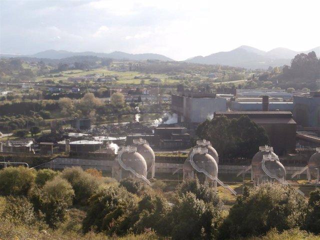 Archivo - ArcelorMittal (Asturias)