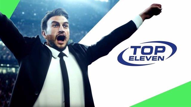 Imagen del videojuego Top Eleven.