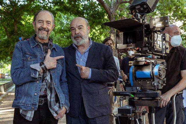 Antonio Resines y Miguel Rellán ya ruedan Sentimos las molestias, la nueva comedia de Movistar+