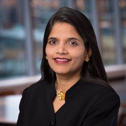 La futura directora financiera de AstraZeneca, Aradhana Sarin