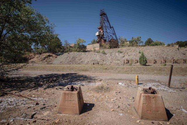 Imagen de archivo de una mina en Nuevo México, Estados Unidos