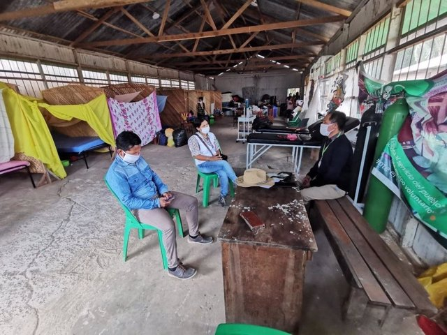 Archivo - Intervención de MSF en las comunidades indígenas de Perú durante la pandemia de COVID-19