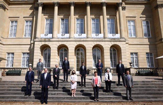 Els ministres de Finances del G7 a Londres