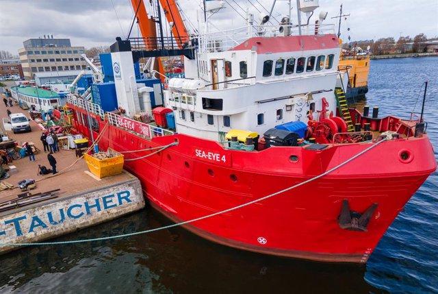 Archivo - El buque de rescate 'Sea-Eye 4'