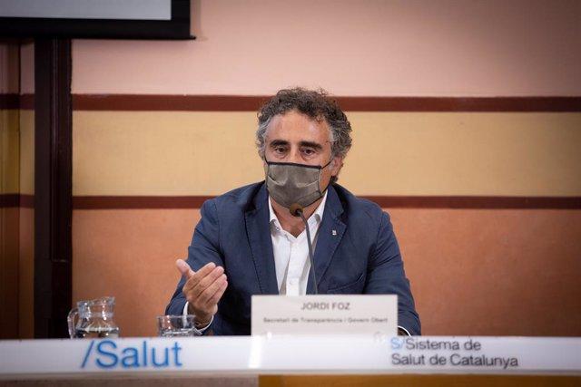 Archivo - Arxivo - El secretari de Cultura de la Generalitat, Jordi Foz