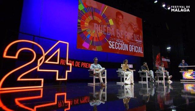 Rueda de prensa 'Amalgama', en el 24 Festival de Cine de Málaga