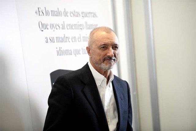 Archivo - Arxivo - L'escriptor Arturo Pérez-Reverte