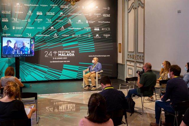 Presentación de 'La ciudad de las fieras' en el Festival de Málaga.
