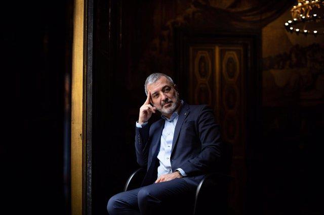El primer tinent d'alcalde i líder del PSC a l'Ajuntament de Barcelona, Jaume Collboni, en una entrevista d'Europa Press