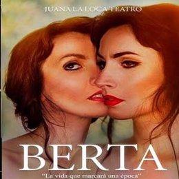 Cartel promocional de la obra de teatro 'Berta'.