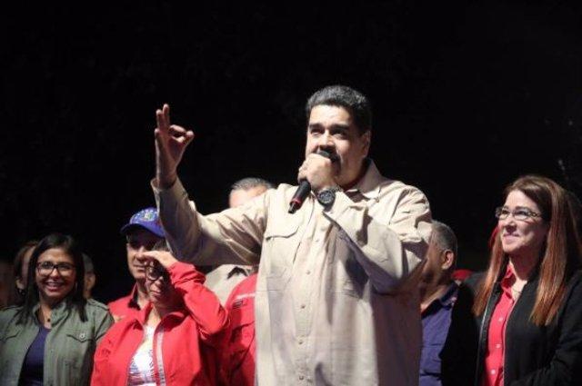 Archivo - El presidente de Venezuela, Nicolás Maduro, ha destacado que su partido, el Partido Socialista Unificado de Venezuela (PSUV) ha logrado el 70 por ciento de los votos y 308 de las 335 alcaldías en juego en las elecciones municipales de este domin