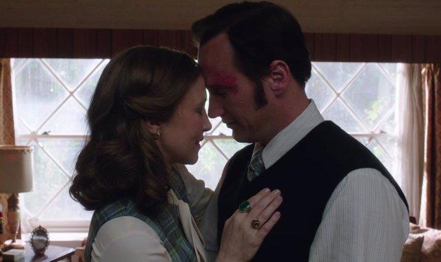 Patrick Wilson y Vera Farmiga como los Warren en The Conjuring 2