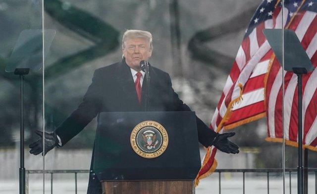 Archivo - El expresidente de EEUU Donald Trump
