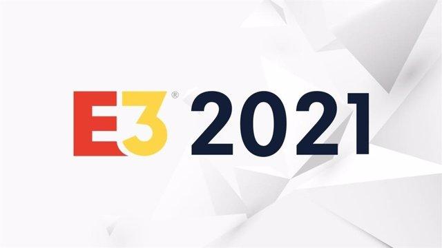 Logotipo del E3 2021 de videojuegos de Los Ángeles.