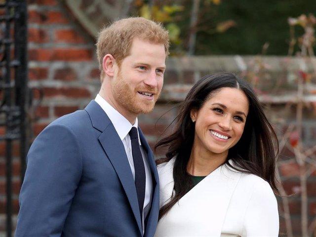Archivo - El Príncipe Harry y Meghan Markle, padres por segunda vez