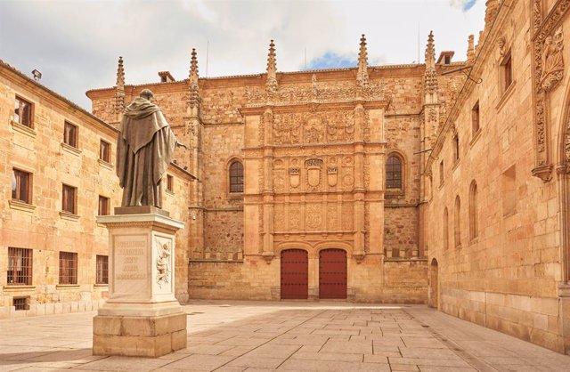 Archivo - Edificio Histórico de la Universidad de Salamanca.