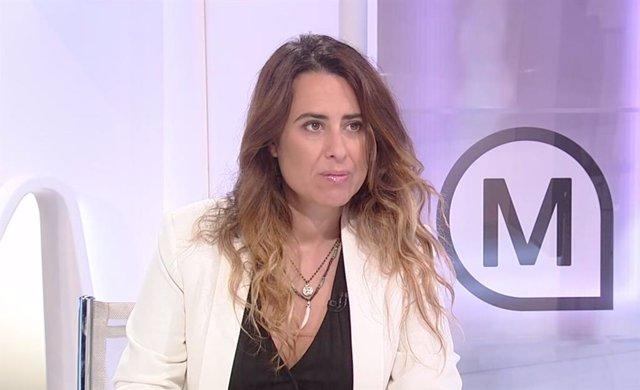 Arxiu - La portaveu del Govern, Patrícia Plaja.