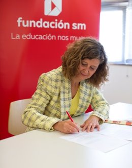 Mayte Ortiz, directora de la Fundación SM