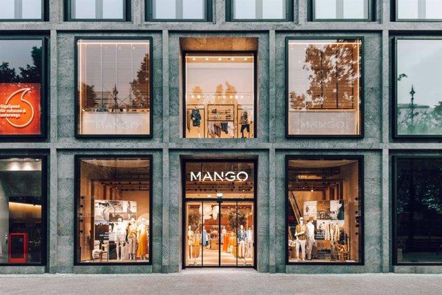 Local de Mango a Berlín (Alemanya).